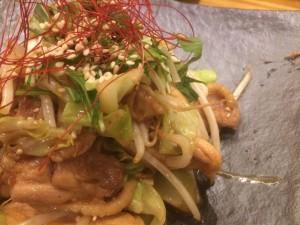 ピリ辛鶏炒め