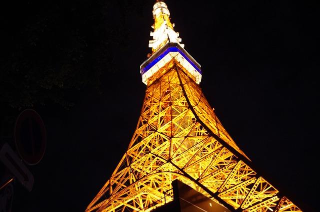 tokyo-tower-452615_640