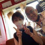 圭子さん個展【loveless】を見にいった【salonの赤い壁にモノクロ写真がゆらめいてる】